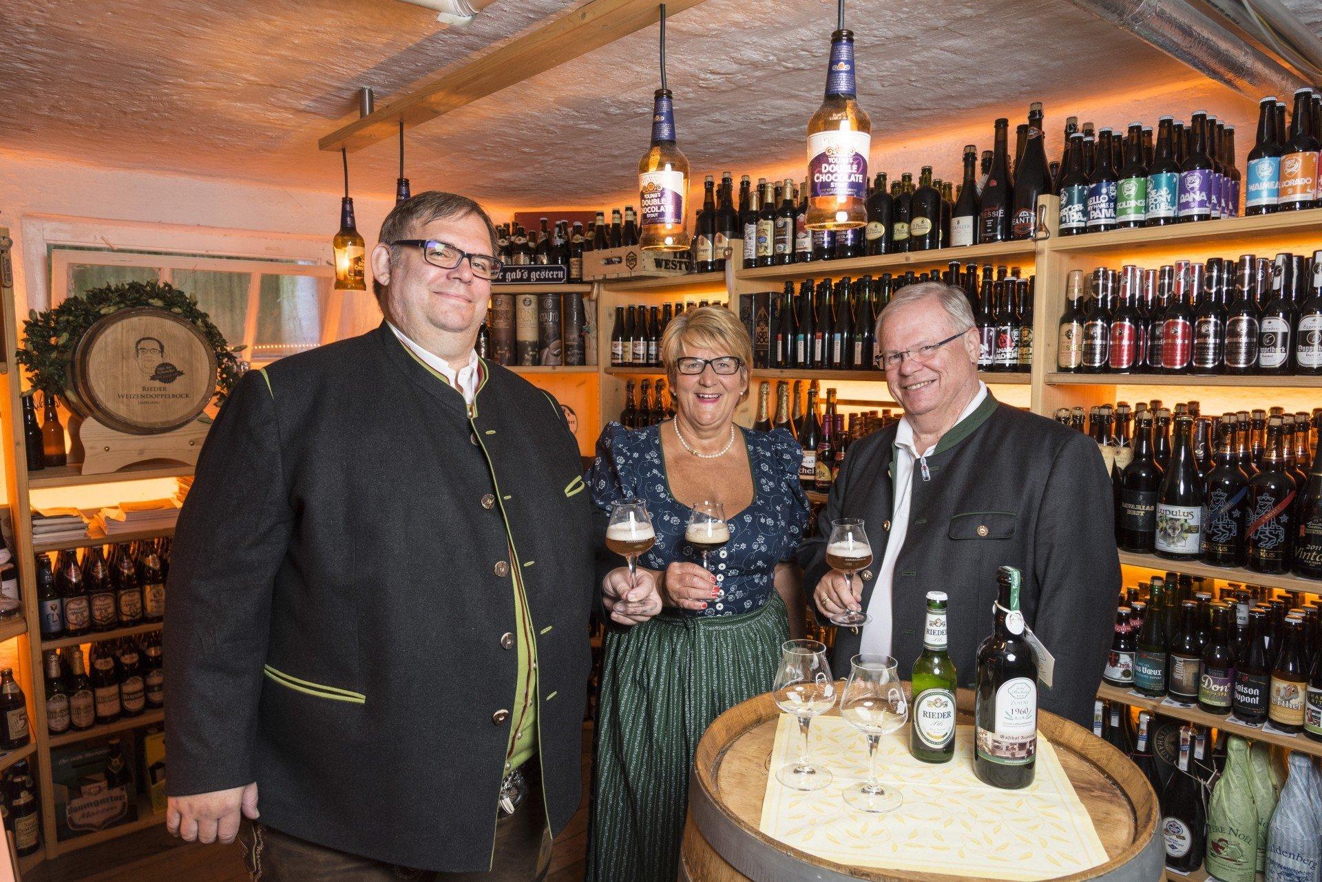 Biergasthof Riedberg | Unser einzigartiger Bierkeller