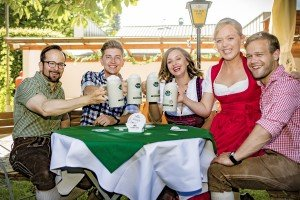 Stimmung Biergarten - Gastgarten