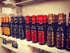 Aktuelle Auswahl in der 0,33 l Flasche, auch zu finden in unserem einzigartigen Bierkeller - bestens gereift natürlich