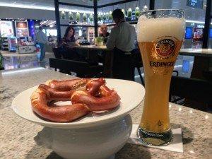 Obligatorisch bei Abflug in München: Menü I