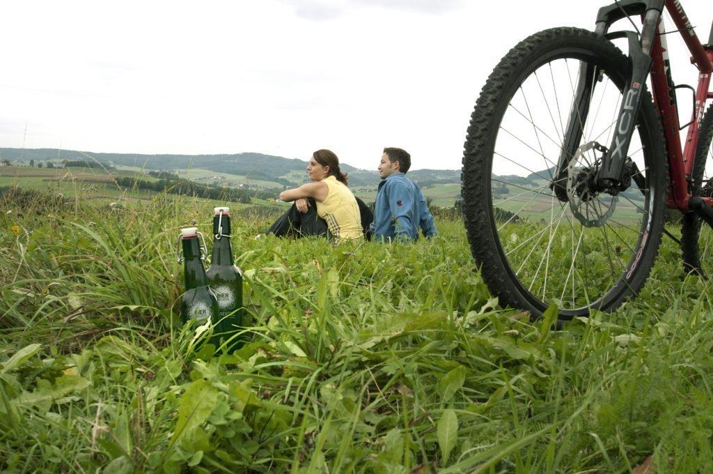 Fahrrad/Bier
